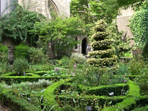 The Garden at The Museum of Gardening History por Tony Atkin