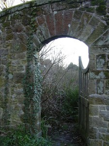 Secret garden gate open por ARendle