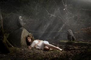 Fate of Blodeuwedd por Paolo Marconi