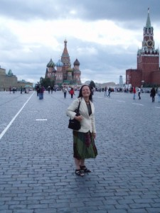 Morgana Sythove, Red Square, 2009