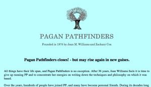 Pagan Pathfinders