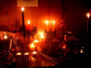 Altar Samhain por Wilhelmine