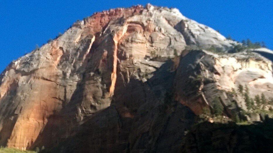 La Diosa vigilando las montañas - Parque Nacional Zion